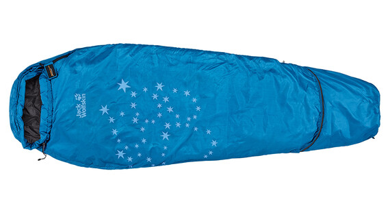 Jack Wolfskin Grow Up Star Sleeping Bag electric blue
